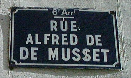 Jardin et Rues Alfred de Musset